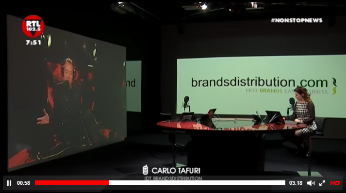 Brandsdistribution on radio rtl 102.5 - Brandsdistribution