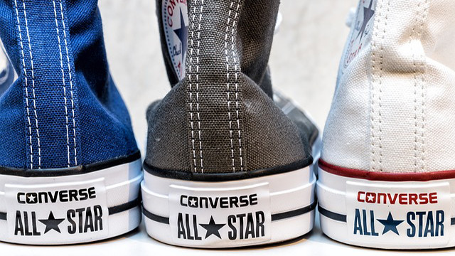 23b0c8b25294e The Converse All Star is the shoe that got the most success in the history  of sport.