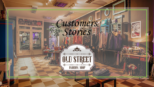 Old street fashion shop - Brandsdistribution