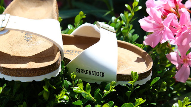 shoes Birkenstock and Toms