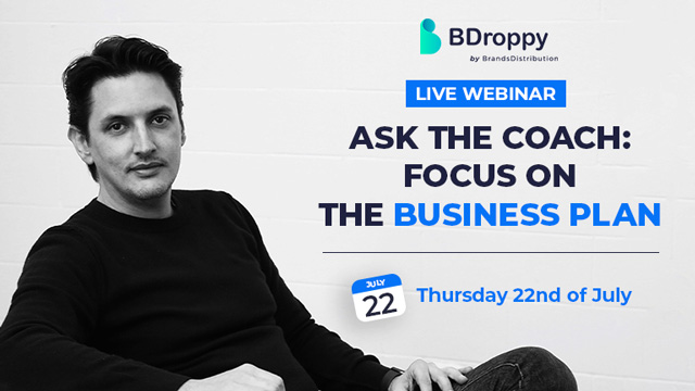 The business plan - Join the live BDroppy webinar