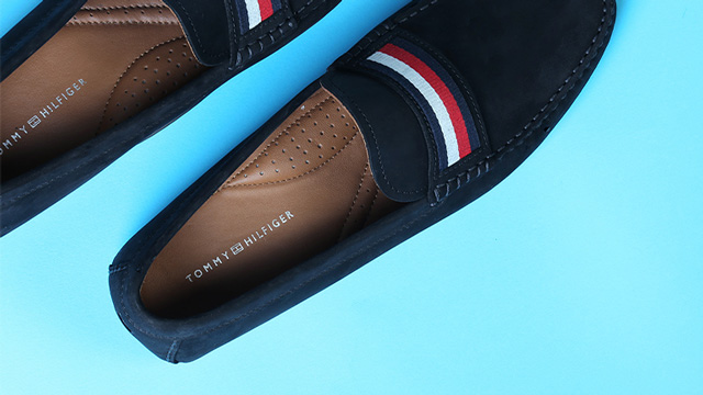 sell shoes by Tommy Hilfiger in dropshipping